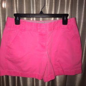 J. Crew broken in chino shorts
